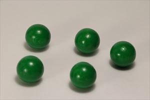 カラー木球25Φ 5ヶ入 緑