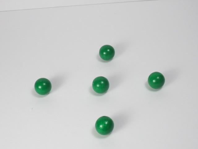 カラー木球10Φ 5ヶ入 緑