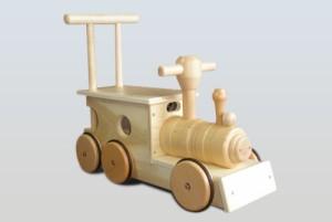汽車ポッポ(木輪)