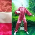 太極拳上下セット 女性用  ピンク系3色