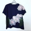 【SALE50%OFF】鹿の子ハイビスカスTシャツ 4色