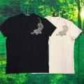 虎プリントシャツ