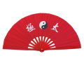 太極扇龍鳳扇(赤/赤)