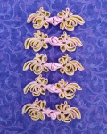 同色5個組チャイナボタン 紫系5カラー