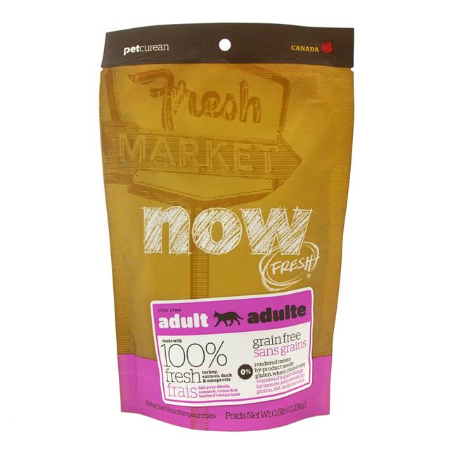 NOW FRESH Grain Free アダルトキャット 227g