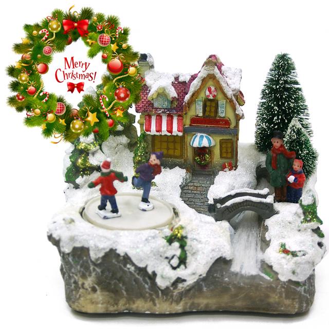 【30,000円以上でプレゼント】北欧クリスマス雑貨★クリスマスタウン