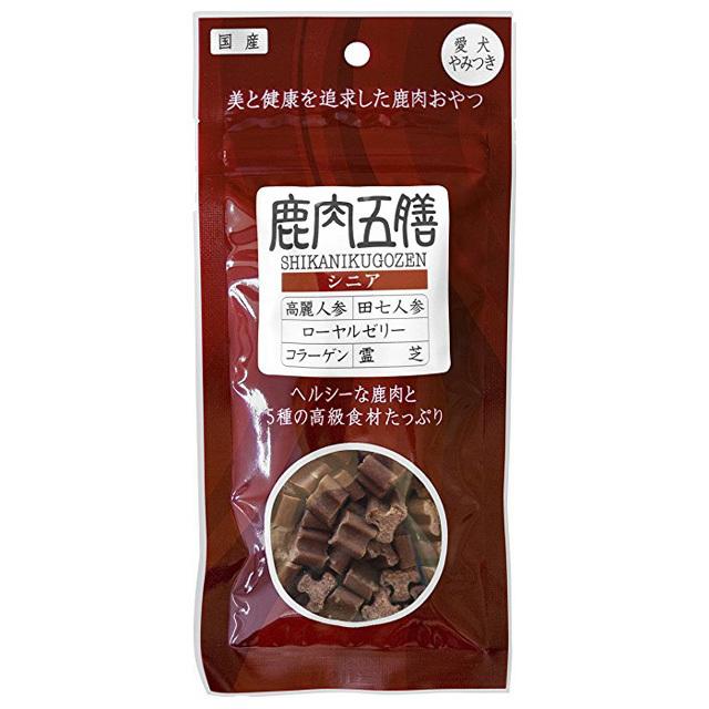 鹿肉五膳 シニア 50g