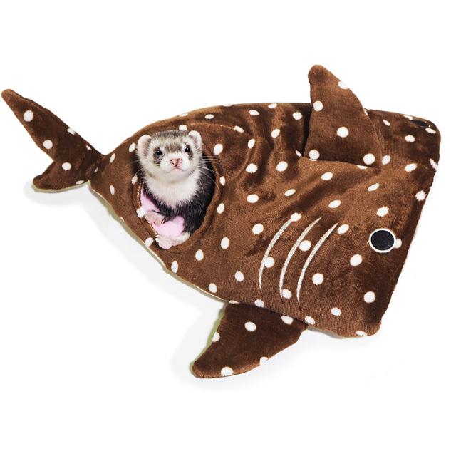 ジンベエザメの寝ぶくろ