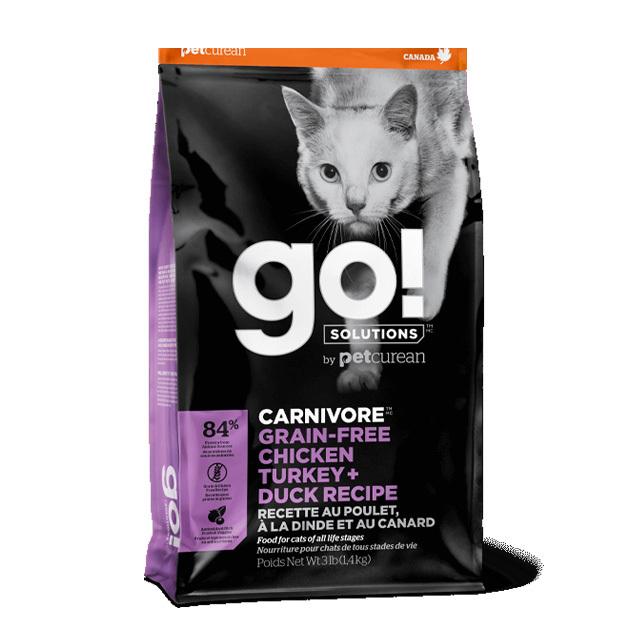 GO! カーニボア グレインフリー チキンターキー+ダック キャット 1.4kg