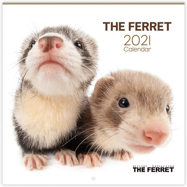 THE FERRET 2021年カレンダー