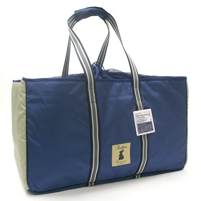 トートキャリーバッグ(ブルー)Lサイズ