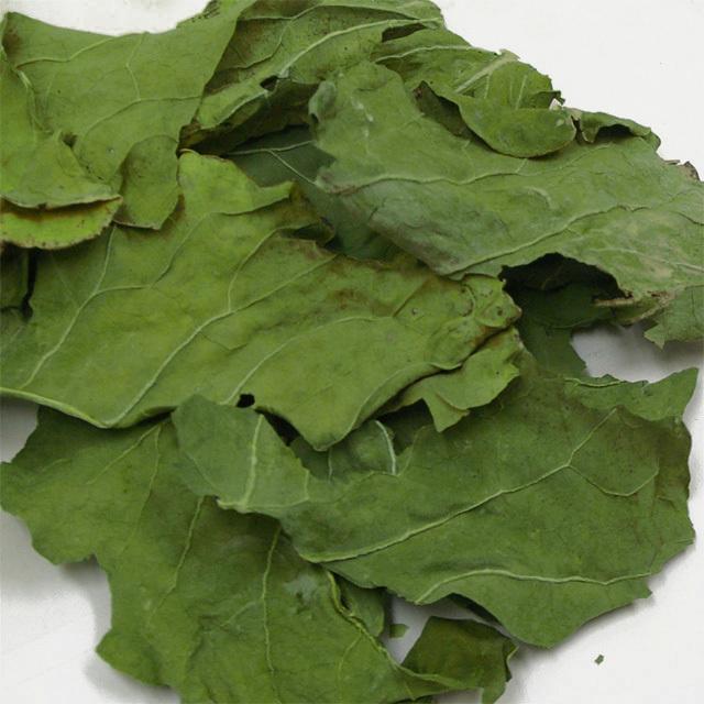 無添加・無着色 国産ブロッコリーの葉 30g