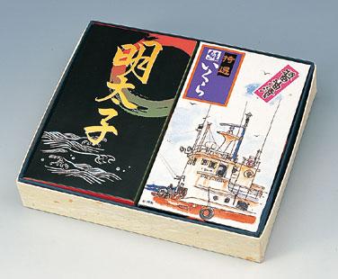 魚卵2種 詰め合わせ いくら醤油漬(300g)・明太子(270g)