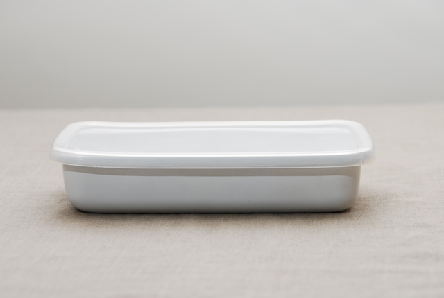 野田琺瑯ホワイトシリーズ・レクタングル浅型
