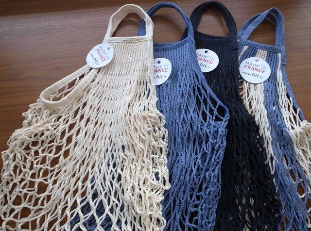 「FILT(フィルト)」 Net Bag ネットバッグ 40cm×40cm(持ち手10cm)