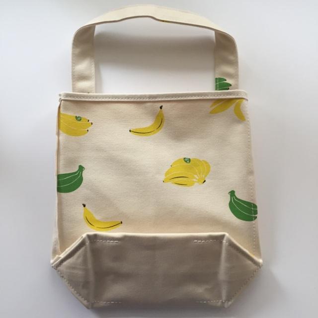 【季節限定】 TEMBEA(テンベア) BAGUETTE TOTE(バゲットトート) バナナプリント