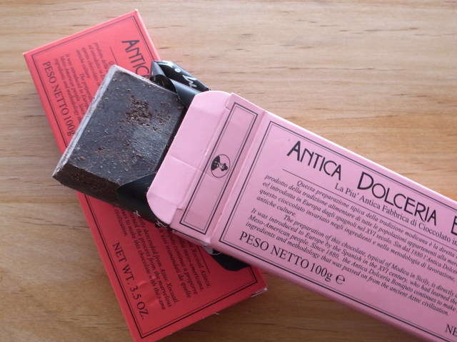 ANTICA DOLCERIA BONAJUTO チョコレート バニラ・シナモン 100g