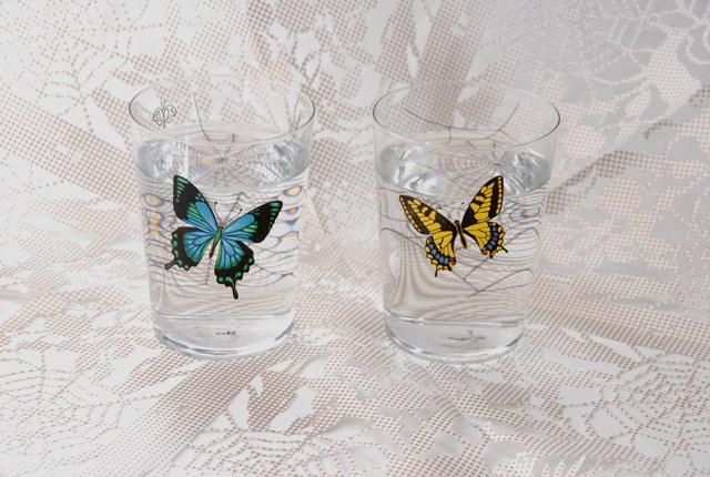 D-BROS(ディーブロス)  「HOTEL BUTTERFLY」 ホテルバタフライ グラス
