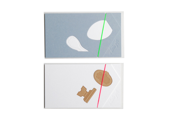D-BROS(ディーブロス) グリーティングカード 「a little gift」