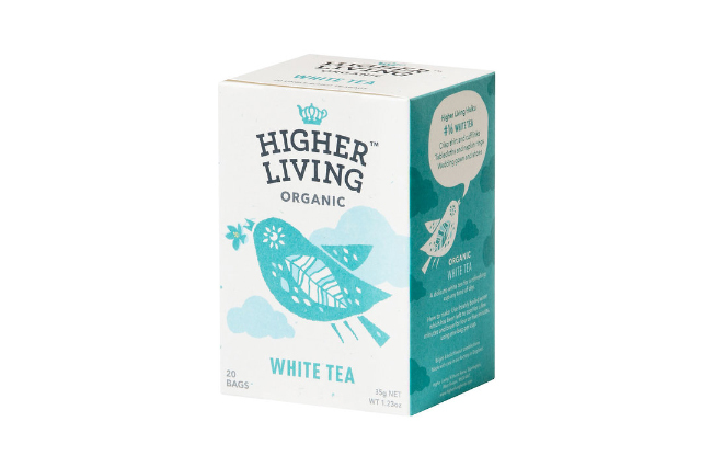 HIGHER LIVING ORGANIC TEA 有機ホワイトティー(白茶)