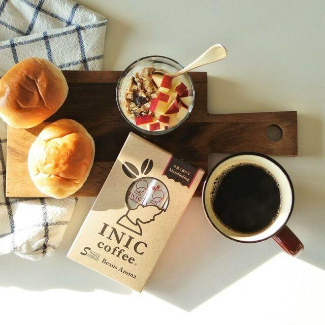 INIC coffee インスタントコーヒー ビーンズアロマ