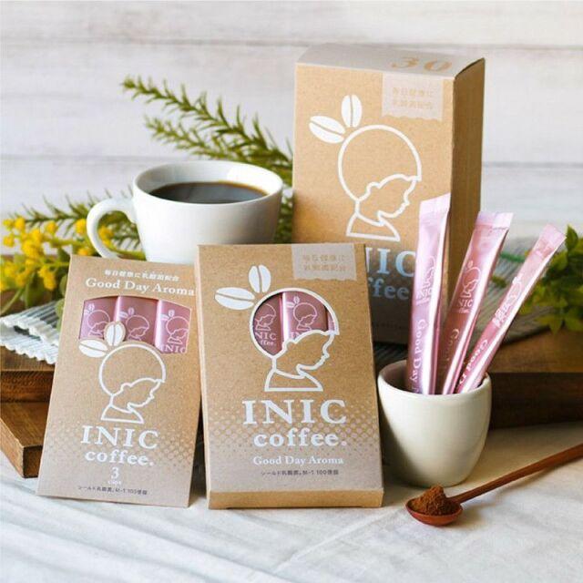 INIC coffee インスタントコーヒー グッドデイアロマ