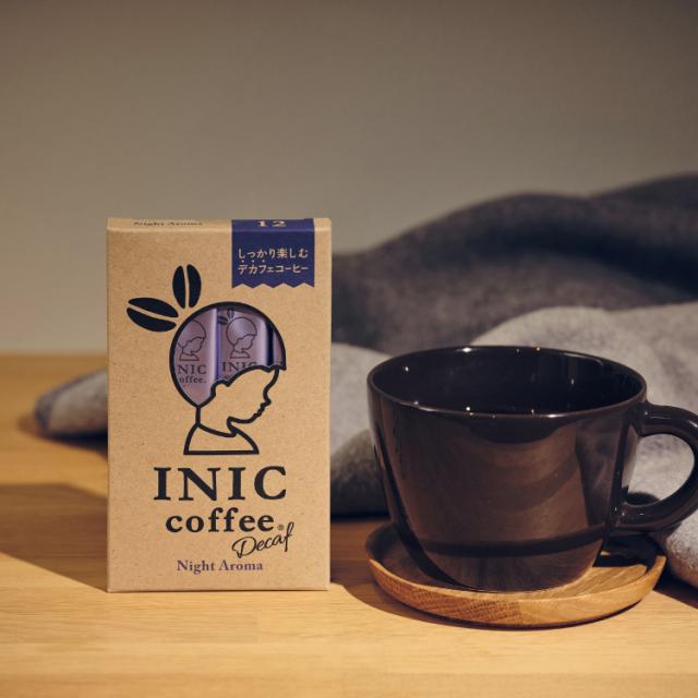 INIC coffee インスタントコーヒー ナイトアロマ