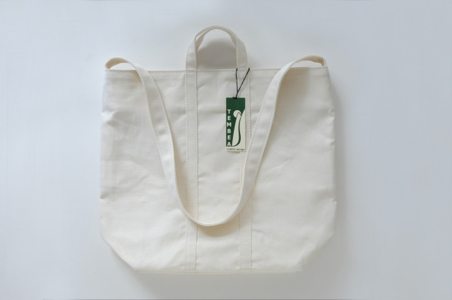 TEMBEA(テンベア) CLUB TOTE LINEN WHITE