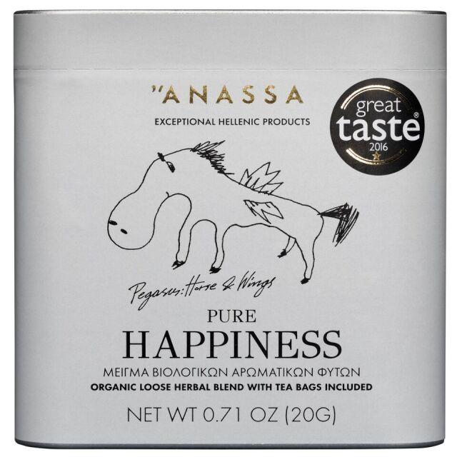 ANASSA ハーブティー ピュアハピネス(缶)