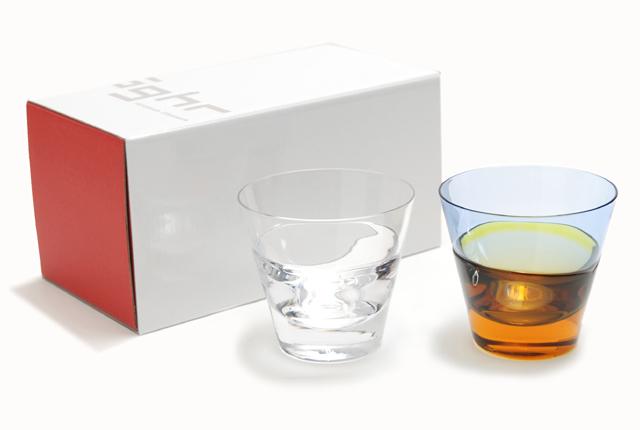 Sugahara Glass(スガハラガラス) 「duo・デュオ」 オールド
