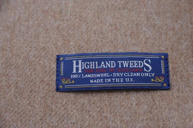 highlandtweeds ハイランドツイード ストール