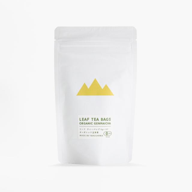 屋久島八万寿茶園 有機玄米茶 ティーバッグ