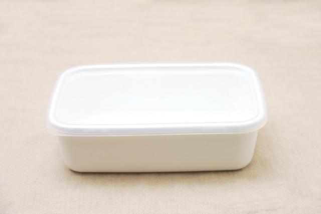 野田琺瑯ホワイトシリーズ・レクタングル深型