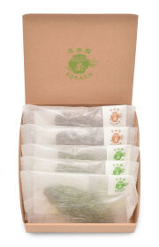 手摘み抹茶の焼き菓子・高香ほうじ茶の焼き菓子詰め合わせ(5個入り)