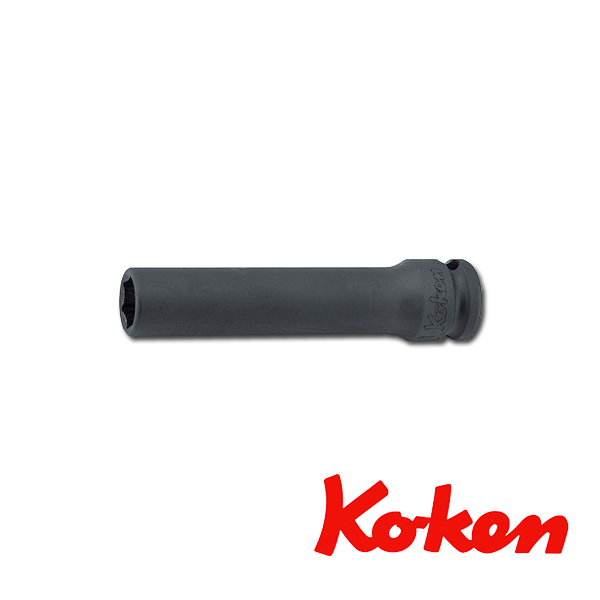 """Koken(コーケン) 3/8""""-9.5 13301M-22 インパクト薄肉ディープソケットレンチ(6角) 22mm"""