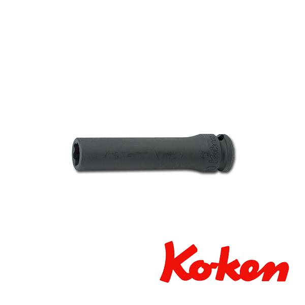 """Koken(コーケン) 3/8""""-9.5 13310M-12 インパクトサーフェイスディープソケットレンチ 12mm"""