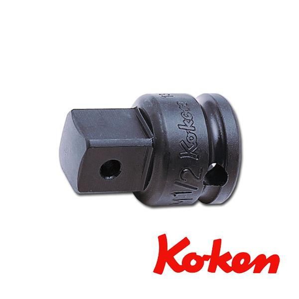 """Koken(コーケン) 3/8""""-9.5 13344A-B インパクトアダプター 凹3/8""""凸1/2"""""""