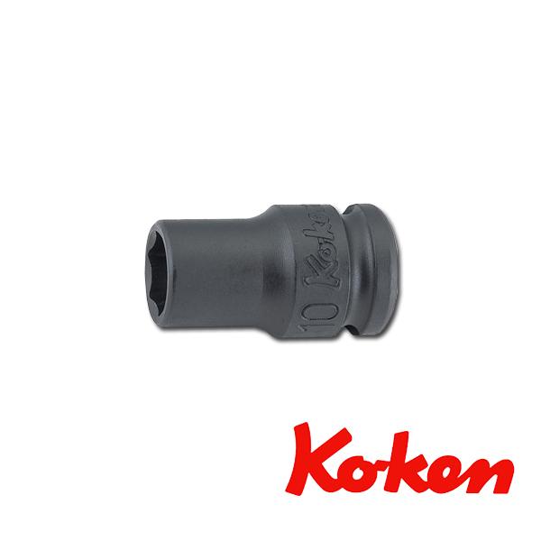 """Koken(コーケン) 3/8""""-9.5 13401M-24 インパクト薄肉ソケットレンチ 6角 24mm"""