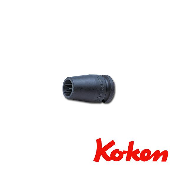 """Koken(コーケン) 3/8""""-9.5 13425-E14 インパクトトルクスソケットレンチ E14"""