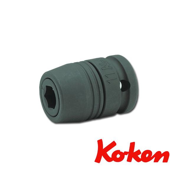 """【メール便可】 Koken(コーケン) 1/2""""-12.7 14105L インパクトビットホルダー(スライドチャック)"""