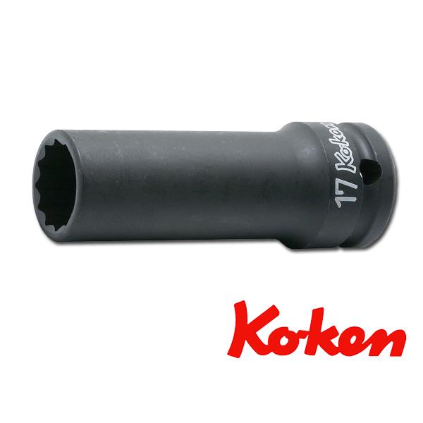 ko-ken (コーケン) コーケン工具 12角ディープソケット(薄肉) 14306M