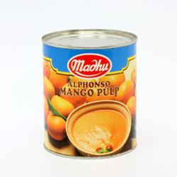アルフォンソ マンゴーパルプ(ピューレ)2号缶 850g