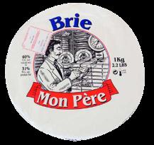 ≪14日納期≫【白カビ】モンペール ブリー1/8カット 110g【フランス産】