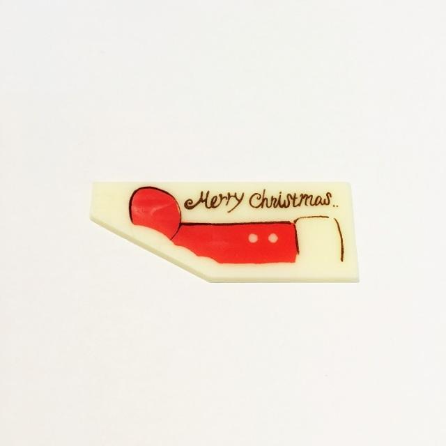 【チョコレートオーナメント】 クリスマスブーツ 1枚