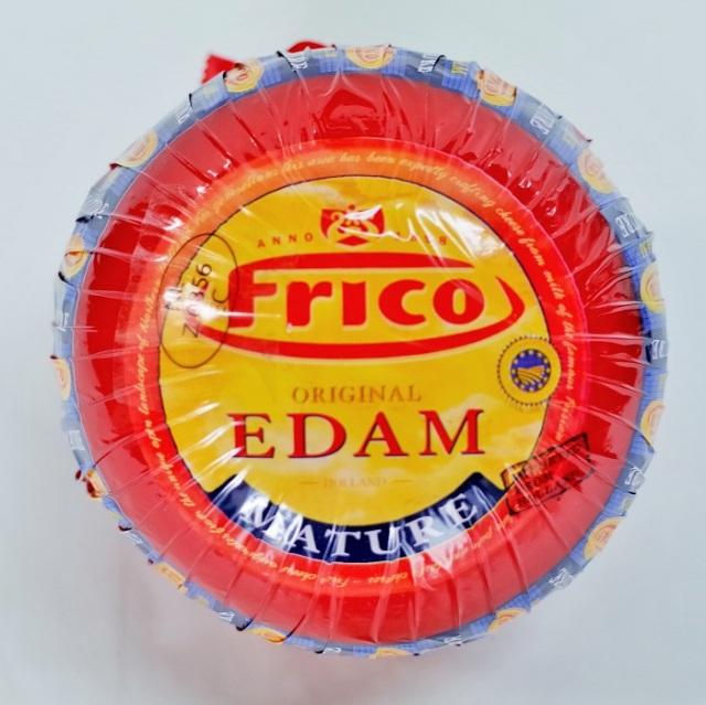 【ハード】エダムチーズ 赤玉(約1.6kg)【オランダ産】