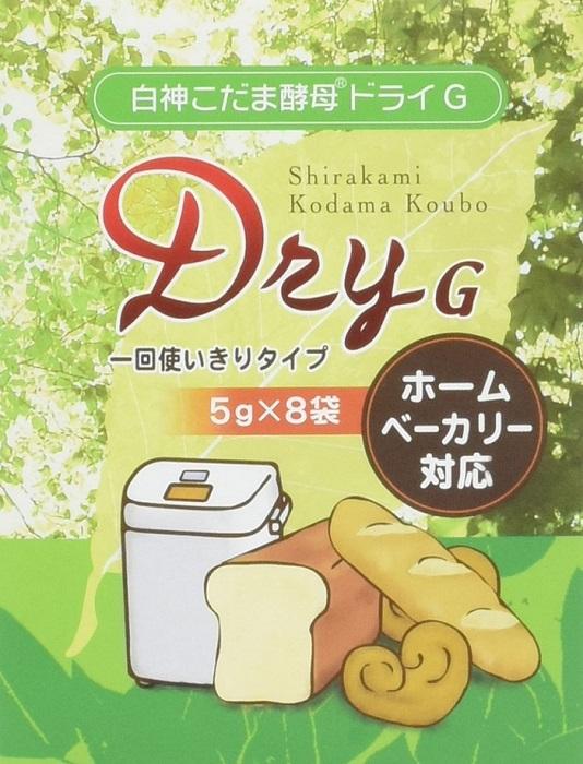 白神こだま酵母ドライG 40g(5g×8袋)