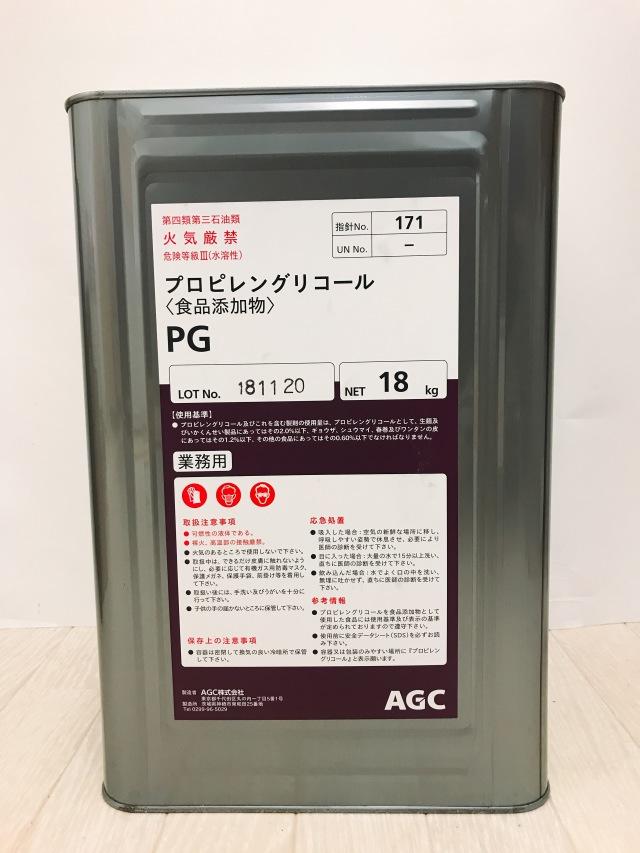 値引き対象外 《卸》 プロピレングリコール 食添 18kg