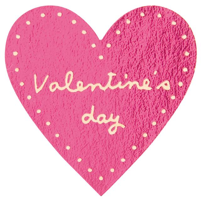 《14日納期》バレンタインデイシール:ミニハートピンク 100枚