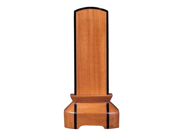 家具調 位牌【絆】 チークK 3.5寸~4.5寸