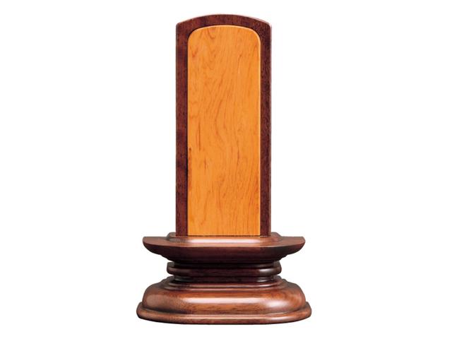 家具調 位牌【橘】 内屋久杉 ウォールナット 3.5寸~4.5寸